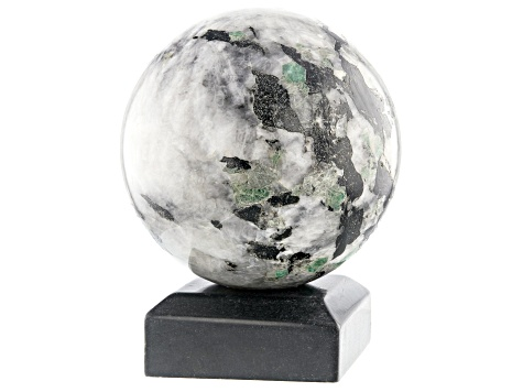 Emerald In Host Rock 13 Inch Polished Sphere