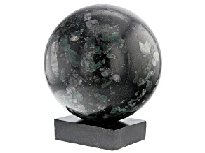 Emerald In Host Rock 12.4 Inch Polished Sphere