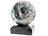 Emerald In Host Rock 12.5 Inch Polished Sphere
