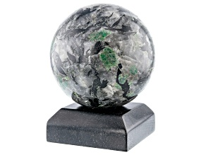 Emerald In Host Rock 10.8 Inch Polished Sphere