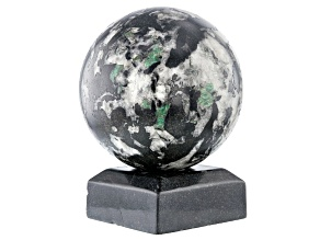 Emerald In Host Rock 12.7 Inch Polished Sphere