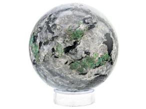 Emerald In Host Rock 21.1 Inch Polished Sphere