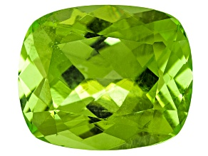 Peridot 11.5x9.5mm Rectangular Cushion 4.00ct