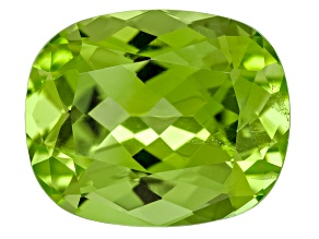 Peridot 11x9mm Rectangular Cushion 4.16ct