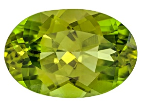 Peridot 14.73x9.92mm Oval 6.74ct