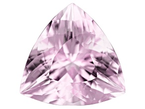 6.04ct Kunzite 13mm Triangle