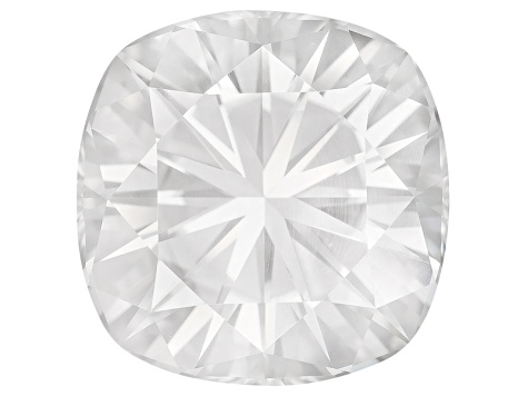 Moissanite Fire ™ 12mm Square Cushion Brilliant Cut Apx 8.15ct Diamond Equivalent Weight