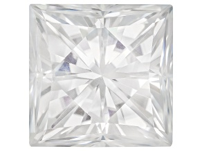 Moissanite Fire ™ 9mm Square Princess Cut Apx 4.30ct Diamond Equivalent Weight