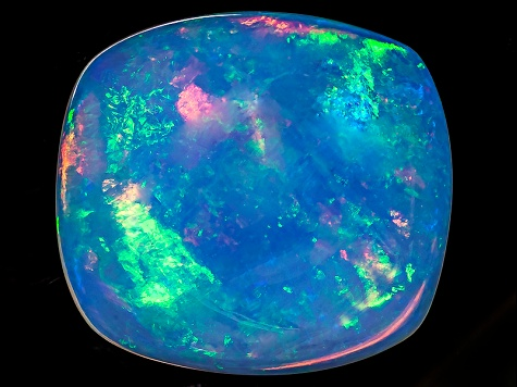 Opal Top Crystal 23x21mm Rectangular Cushion Cabochon 30.75ct