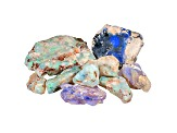 Lightning Ridge Opalised Plant Fossil Free Form Parcel 50.00ctw