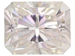 Moissanite Fire ™ Apx 3.90ct Diamond Equivalent Weight 10x8mm Rectangular Octagonal Radiant Cut