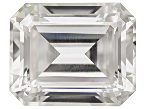 Moissanite Fire ™ 11x9mm Emerald Cut Apx 5.30ct Diamond Equivalent Weight