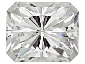 Moissanite Fire ™ 12x10mm Rectangular Octagonal Cut Apx 7.20ct Diamond Equivalent Weight