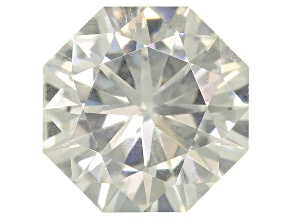 Moissanite Fire® 4.5mm Octagon Brilliant Cut Apx .39ct Diamond Equivalent Weight