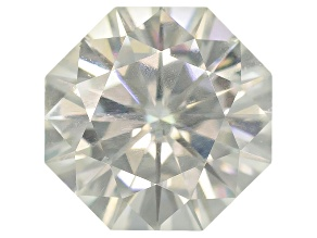 Moissanite Fire ™ 5mm Octagon Brilliant Cut Apx .50ct Diamond Equivalent Weight