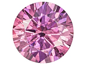 Moissanite Fire ™ Purple 5.5mm Round Brilliant Cut Apx .60ct Diamond Equivalent Weight