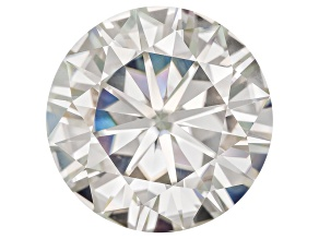 Moissanite Fire ™ 14mm Round Apx 9.75ct Diamond Equivalent Weight