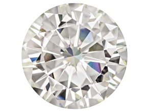 Moissanite Fire ™ 15mm Round Apx 12.00ct Diamond Equivalent Weight