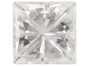 Moissanite Fire ™ 4.5mm Square Brilliant Cut Apx .60ct Diamond Equivalent Weight
