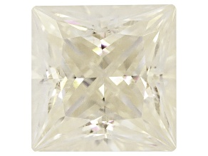 Moissanite Fire ™ 4mm Square Princess Cut Apx .35ct Diamond Equivalent Weight
