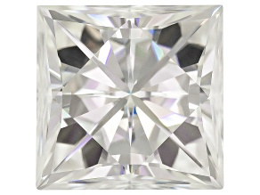 Moissanite Fire ™ Apx 10.50ct Diamond Equivalent Weight 12x12mm Square Brilliant Cut