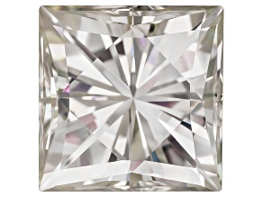 Moissanite Fire ™ 7mm Square Brilliant Apx 2.10ct Diamond Equivalent Weight