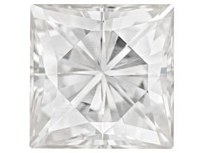 Moissanite Fire ™ Approx 1.70ct Diamond Equivalent Weight 6.5mm Square Brilliant Cut