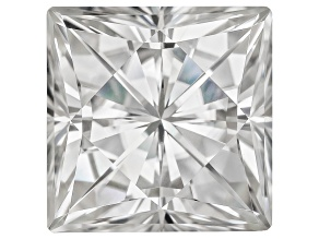 Moissanite Fire ™ Approx 5.97ct Diamond Equivalent Weight 10mm Square Brilliant Cut