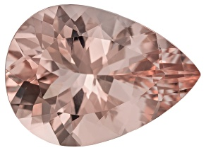 Peach Morganite 10.60ct 18.50x13.50mm Pear Shape