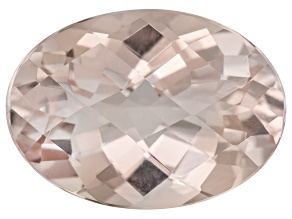 Peach Morganite 6.02ct 15x10.50mm Oval Shape