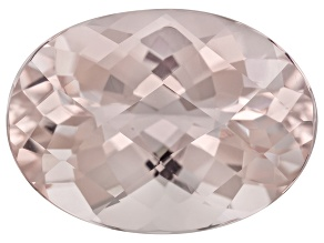 Peach Morganite 6.78ct 15x10.76mm Oval Shape