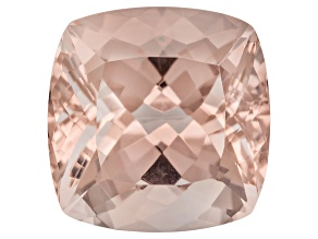 Peach Morganite 6.50ct 11.50mm Square Shape