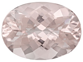 Peach Morganite 6.50ct 15.00x11.00mm Oval