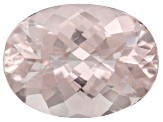 Morganite 15x11mm Oval 6.50ct