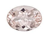 Morganite 15x11mm Oval 6.00ct