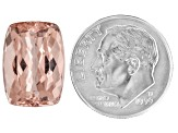 Morganite 15x11mm Rectangular Cushion 8.99ct