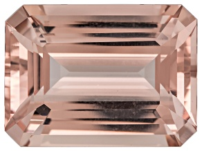 Morganite 20x15mm Rectangular Octagonal 20.40ct