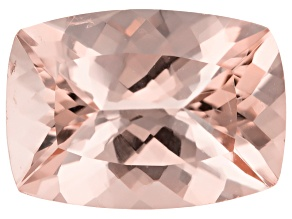 Morganite 14x10mm Rectangular Cushion 5.48ct