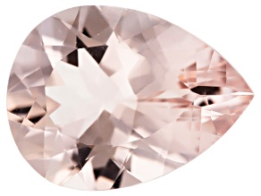 Morganite 20x15mm Pear Min 12.67ct