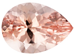 Morganite 18x13mm Pear Min 11.34ct