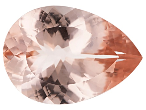 Morganite 17x12mm Pear Min 7.86ct