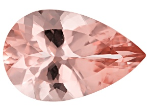 Morganite 17x11mm Pear Min 6.49ct