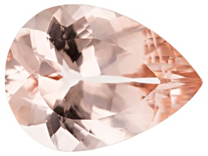 Morganite 16x12mm Pear Min 7.04ct
