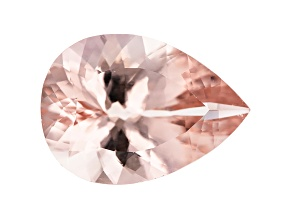 Morganite 15x11mm Pear Shape 5.57ct