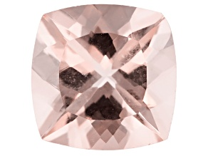 Morganite 11mm Square Cushion Min 4.83ct