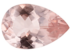 Morganite 15x10mm Pear Min 4.15ct