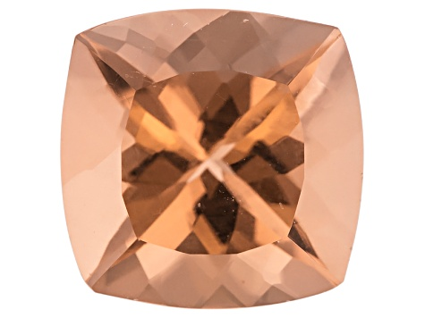 Morganite 10mm Square Cushion 3.82ct