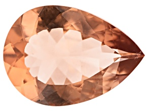 Morganite 14x10mm Pear Min 3.90ct