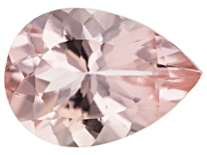Morganite 14x10mm Pear Min 4.73ct