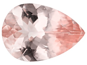 Morganite 14x10mm Pear Min 3.82ct